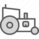 build, farm, heavy, tractor, work icon