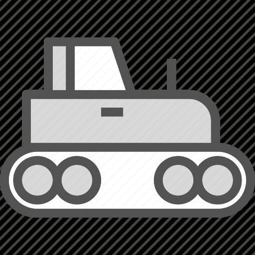 build, heavy, tractor, work icon