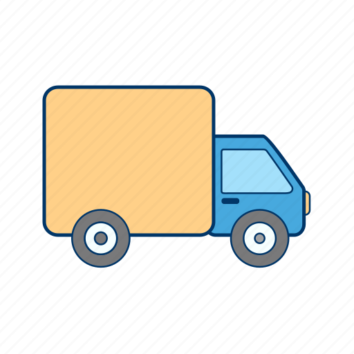 truck, van, vehicle icon