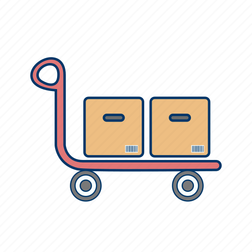 shop, shopping, trolley icon
