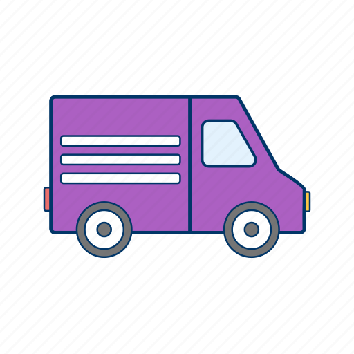 cargo, delivery, van icon