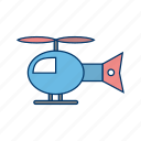 copter, fly, helicopter, jet, move, transferring, travel icon