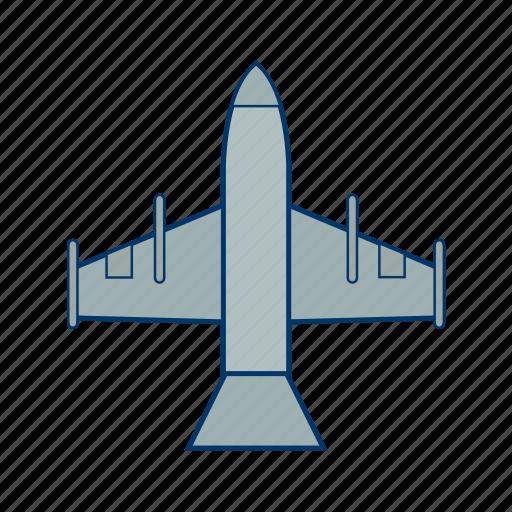 fighter, fighter jet, jet, plane icon
