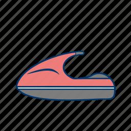 jet bike, jet boating, jet ski icon
