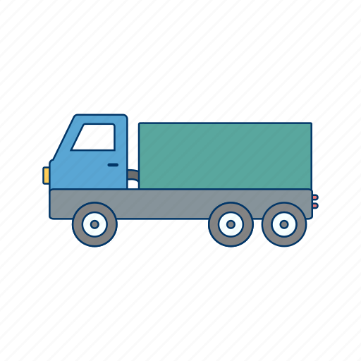 construction, dumper, truck icon