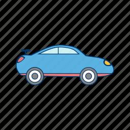 car, race, sports icon
