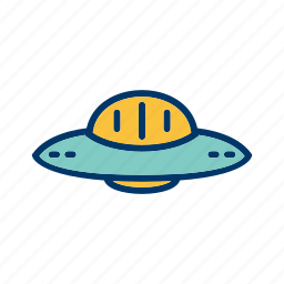 satellite, space, space ship, ufo icon