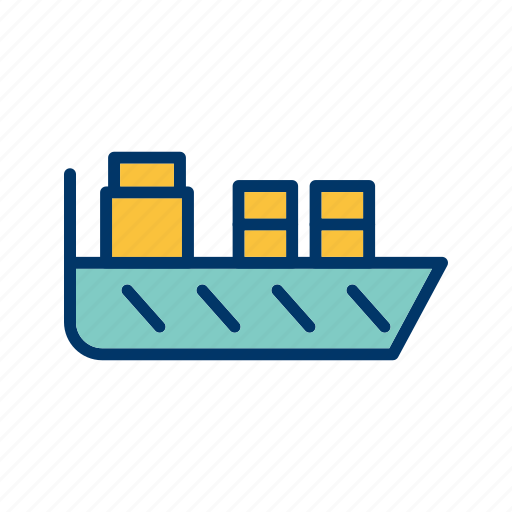 ship, shipping icon