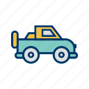 jeep, suv, vehicle icon