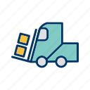 loader, machine, work icon