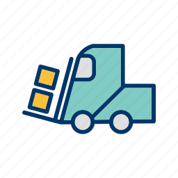 loader, machine, work icon