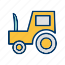 agriculture, farming, machinery, tractor icon