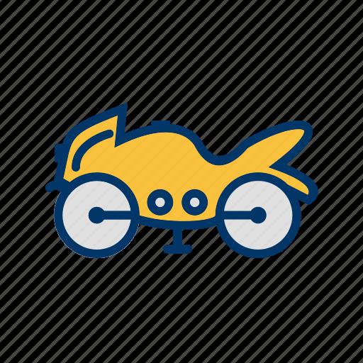 bike, heavy bike, motor cycle icon