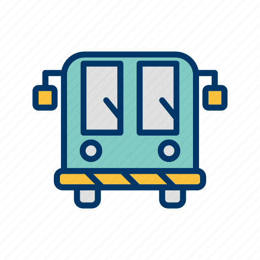 airport, bus, transport icon