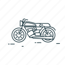 moto, motorcycle, ride, transport, travel, vehicle icon