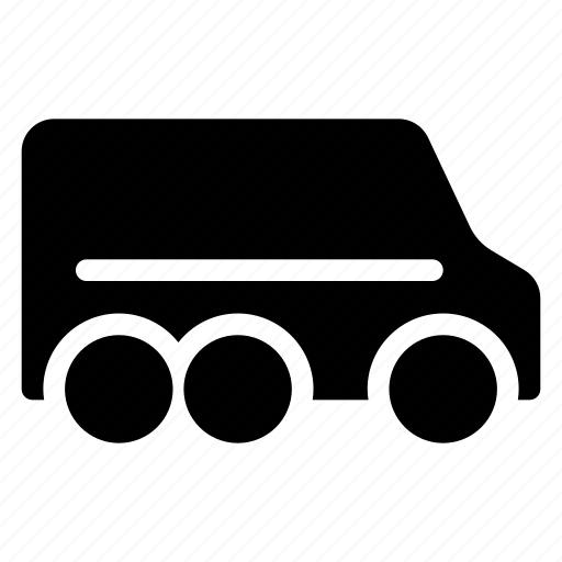 auto, bus, public, transport, travel, van, vehical icon
