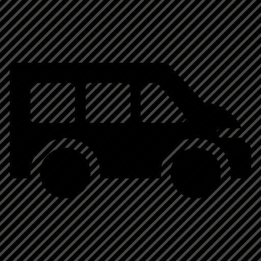 auto, public, transport, transportation, travel, van, vehical icon