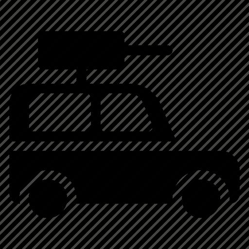 hunting, public, transport, transportation, travel, van, vehical icon