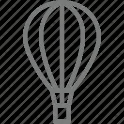 balloon, transport icon
