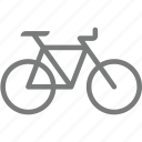 bicycle, transport icon