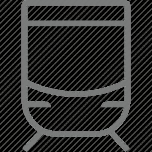 subway, transport icon