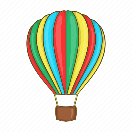 Aerostat, air, balloon, cartoon, flight, sky, travel icon - Download on Iconfinder