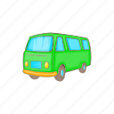 bus, car, cartoon, retro, transportation, van, vehicle icon