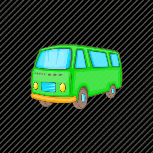 bus, car, cartoon, retro, transportation, van, vehicle icon