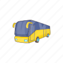 bus, cartoon, tourist, transport, transportation, travel, vehicle icon
