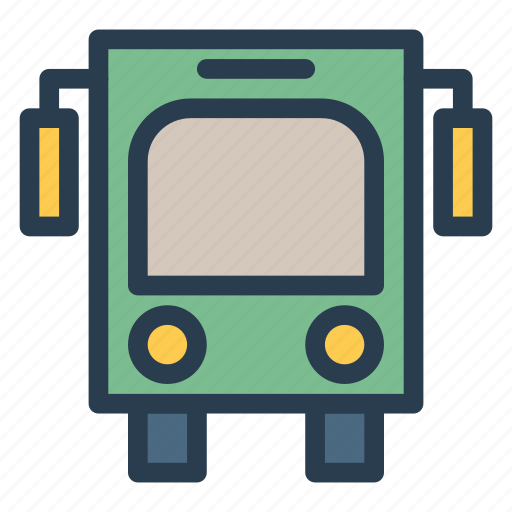 auto, bus, public, transport, transportation, travel, vehical icon