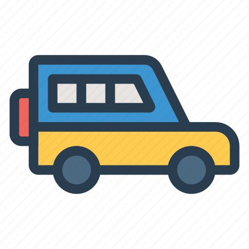 auto, jeep, public, transport, transportation, travel, vehical icon