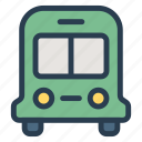 auto, bus, public, transport, transportation, travel, vehical icon