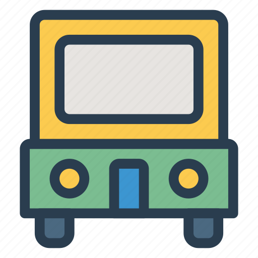 auto, public, transport, transportation, travel, van, vehical icon
