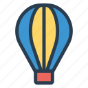 air, balloon, public, transport, transportation, travel, vehical icon