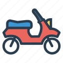 auto, motorcycle, public, transport, transportation, travel, vehical icon