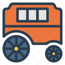 bagi, public, transport, transportation, travel, vehical icon