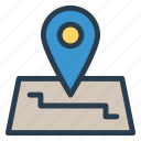gps, location, map, pin, public, transport, travel icon