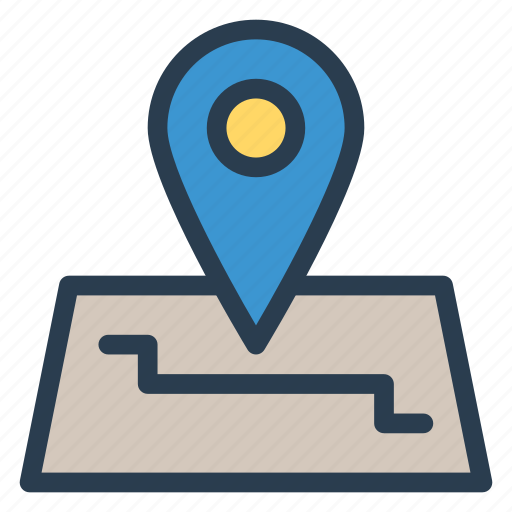 gps, location, map, pin, public, transport, travel icon