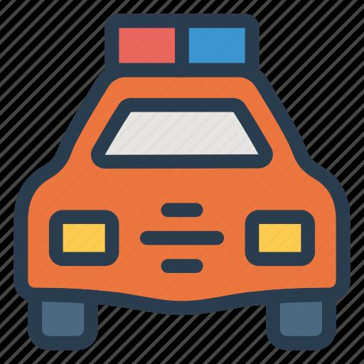 car, police, public, transport, transportation, travel, vehical icon
