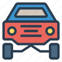 auto, car, racing, transport, transportation, travel, vehical icon
