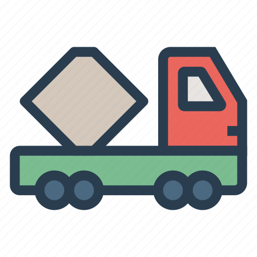 auto, deliver, logistic, trailer, transport, travel, vehical icon