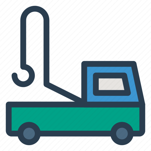 auto, lifter, logistic, transport, travel, van, vehical icon