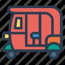 auto, public, rickshaw, transport, transportation, travel, vehical