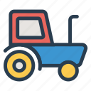 auto, public, tractor, transport, transportation, travel, vehical icon