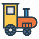 baby, toy, train, transport, transportation, travel, vehical icon