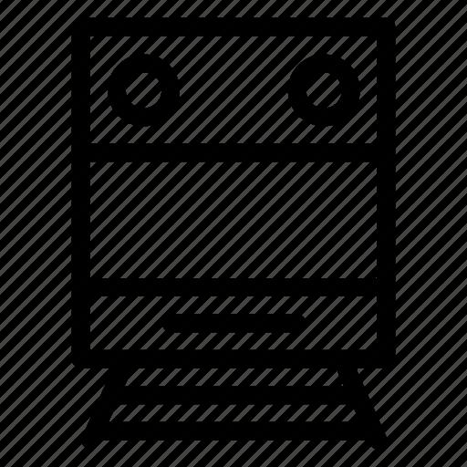 Auto, public, train, transport, transportation, travel, vehical icon - Download on Iconfinder