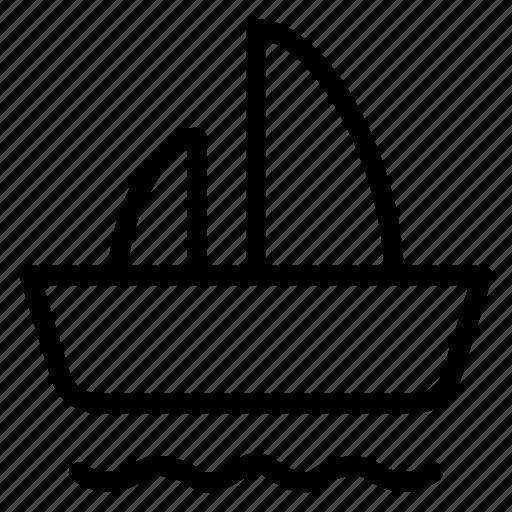 auto, boat, public, transport, transportation, travel, vehical icon