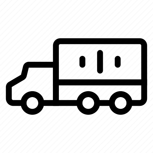 cargo, deliver, logistic, trailer, transport, travel, vehical icon