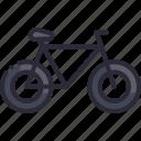 bicycle, bike, mountain, ride, sport icon