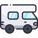 camper, car, rv, travel, van icon